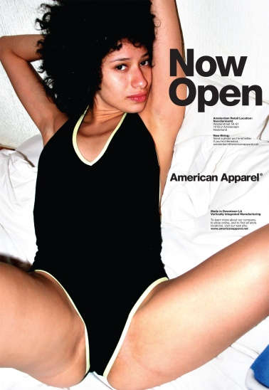 american apparel now open
