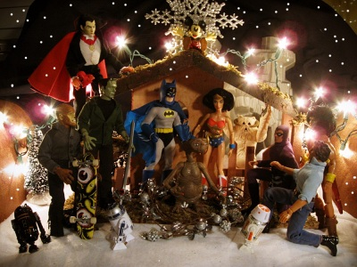 2012 Action Figure Nativity